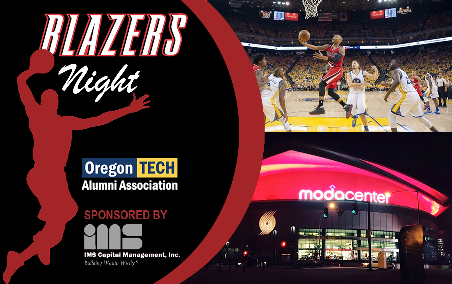 2019 Blazers Night Graphic