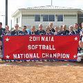 2011 NAIA Softball national championship team