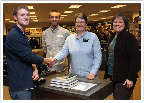 Zach O'Hanen Wins Free Books