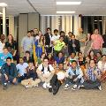 group picture at the international dinner 2014