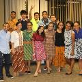 Indonesian students group picture at the international dinner