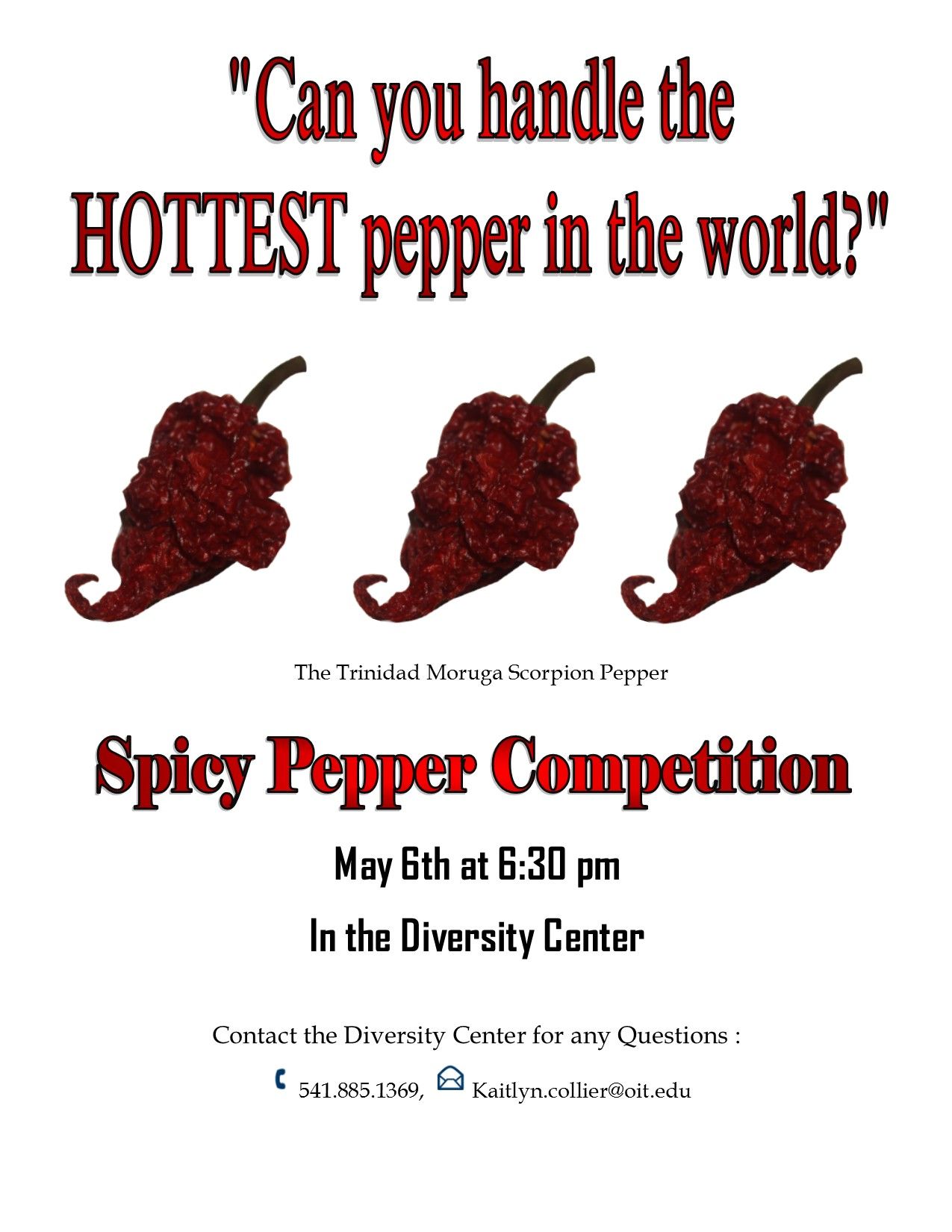 Spicy Pepper Competition