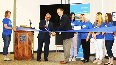 Blue Zones ribbon cutting
