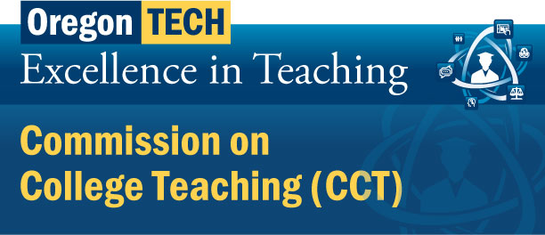 2017-18 Logo Commission on College Teaching