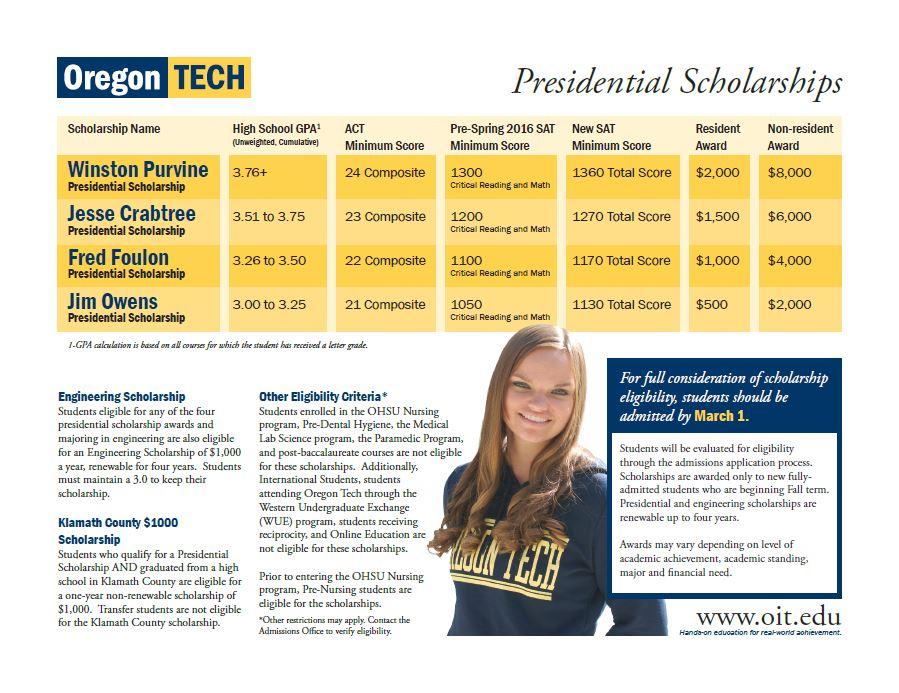 Scholarship Flyer