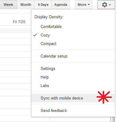 Setup Google Account