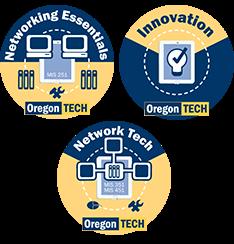 Badges at Oregon Tech