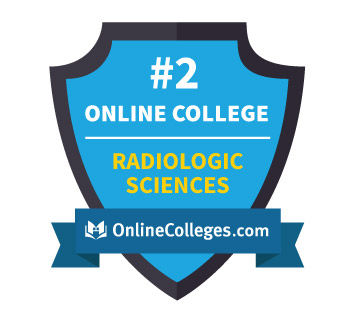Oregon Tech Online's Radiologic Science program Ranked #2 from Onlinecollege.com