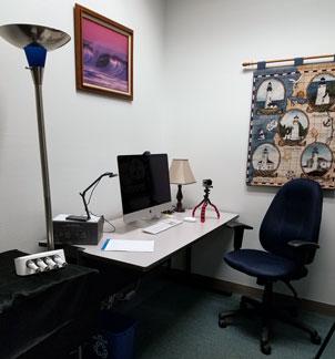 Recording room desktop computer