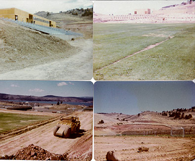 John F. Moehl Stadium Construction