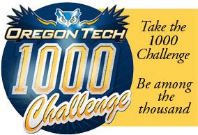 Take the Oregon Tech 1000 Challenge