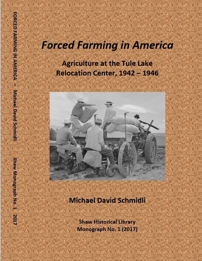 Cover of Forced Farming in America by Michael David Schmidli
