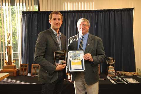 Outstanding Student Veteran Award - Nigel Bliss