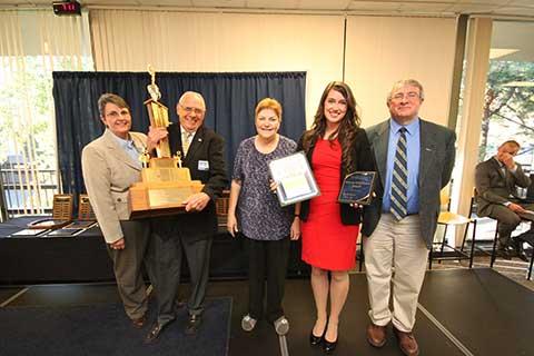 Sarah Courier - Owens Citizenship Award