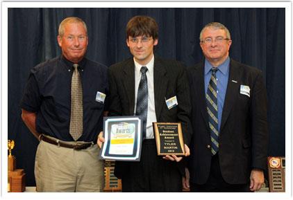 Student Achievement Award - Tyler Martin