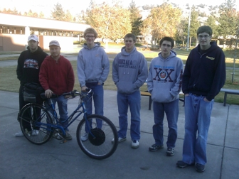 Electric Bicycle & Students