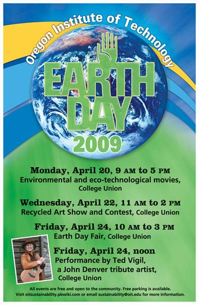 Earth Day 2009 Poster
