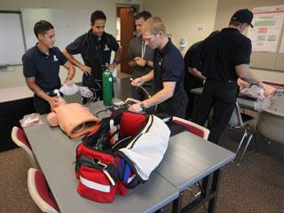 wilsonville paramedic students