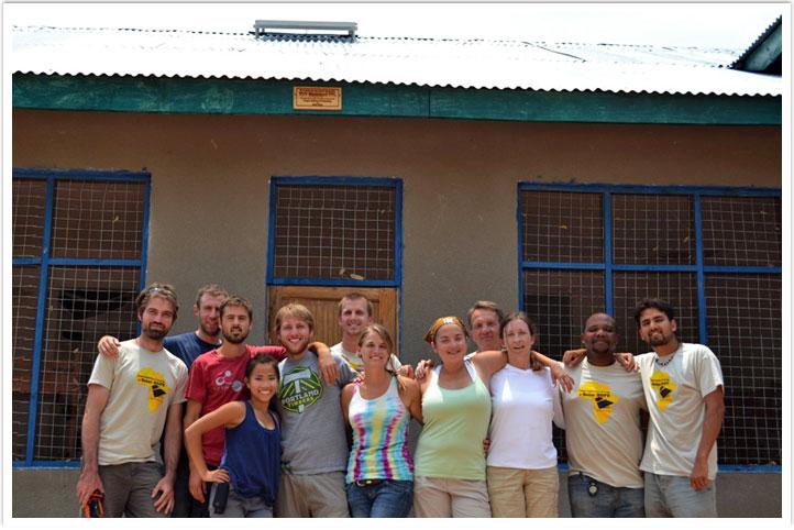 Oregon Tech Renewable Energy Engineering students in Tanzania
