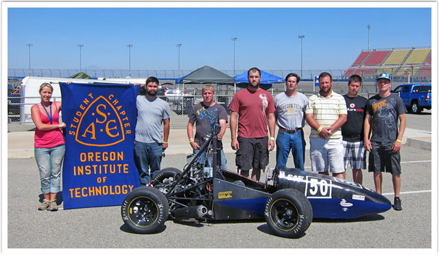 Oregon Tech Competes in Formula SAE West Competition