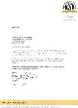 Multnomah University Letter