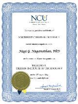NCU Award