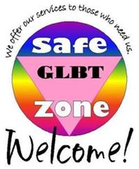 Sign for Safe Zone