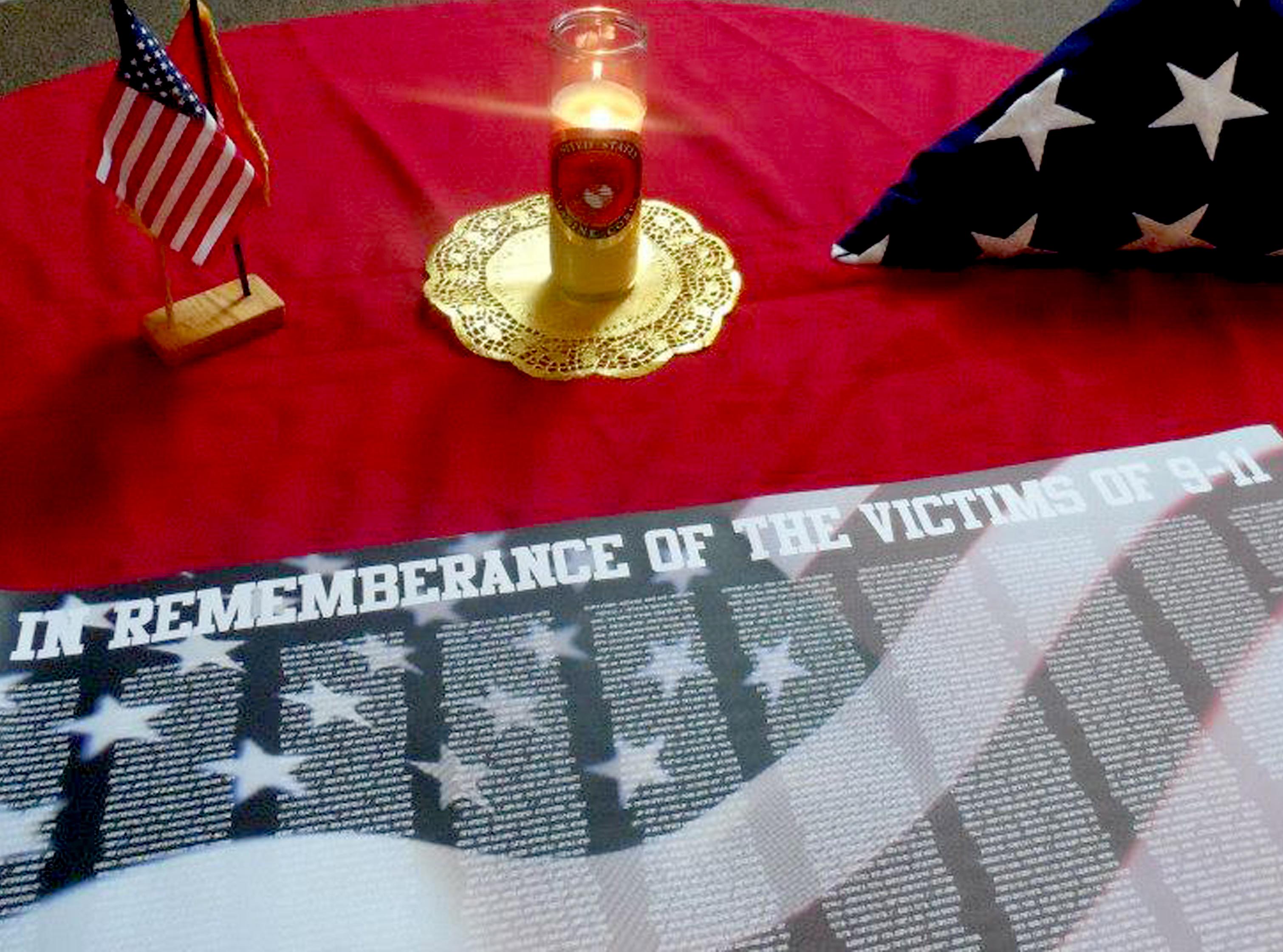 flag folding ceremony