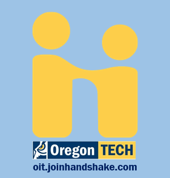 Oregon Tech recruits with Handshake