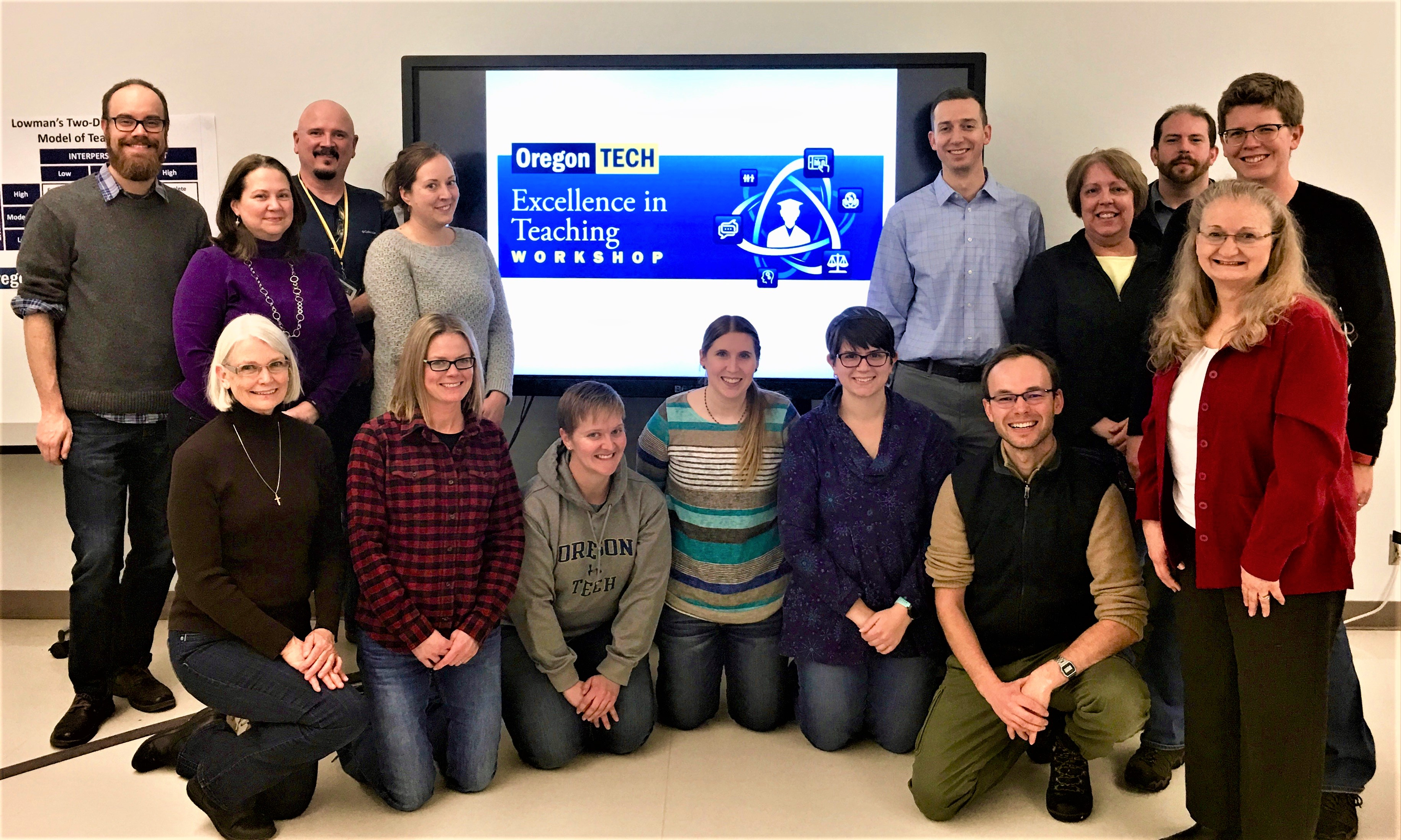 2016-17 Excellence in Teaching Workshop - Group
