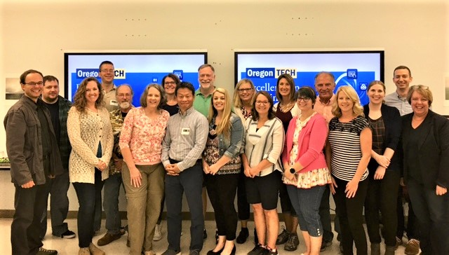 2017-18 Excellence in Teaching Workshop - Group