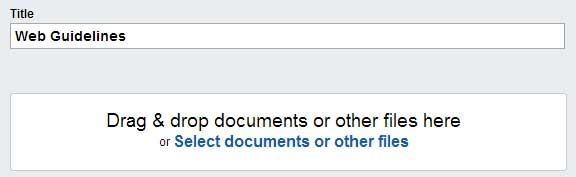 Drag-Drop-Documents-files