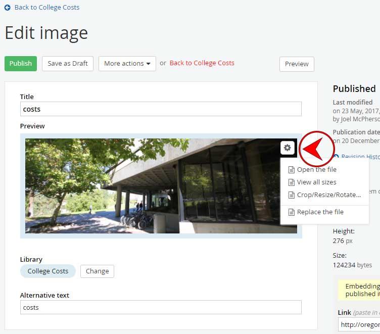 ImageCrop Resize Rotate