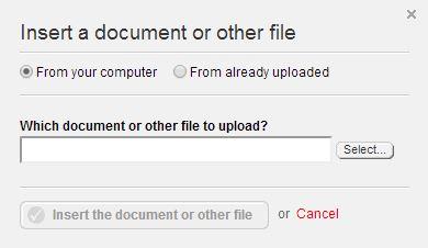 Insert Document