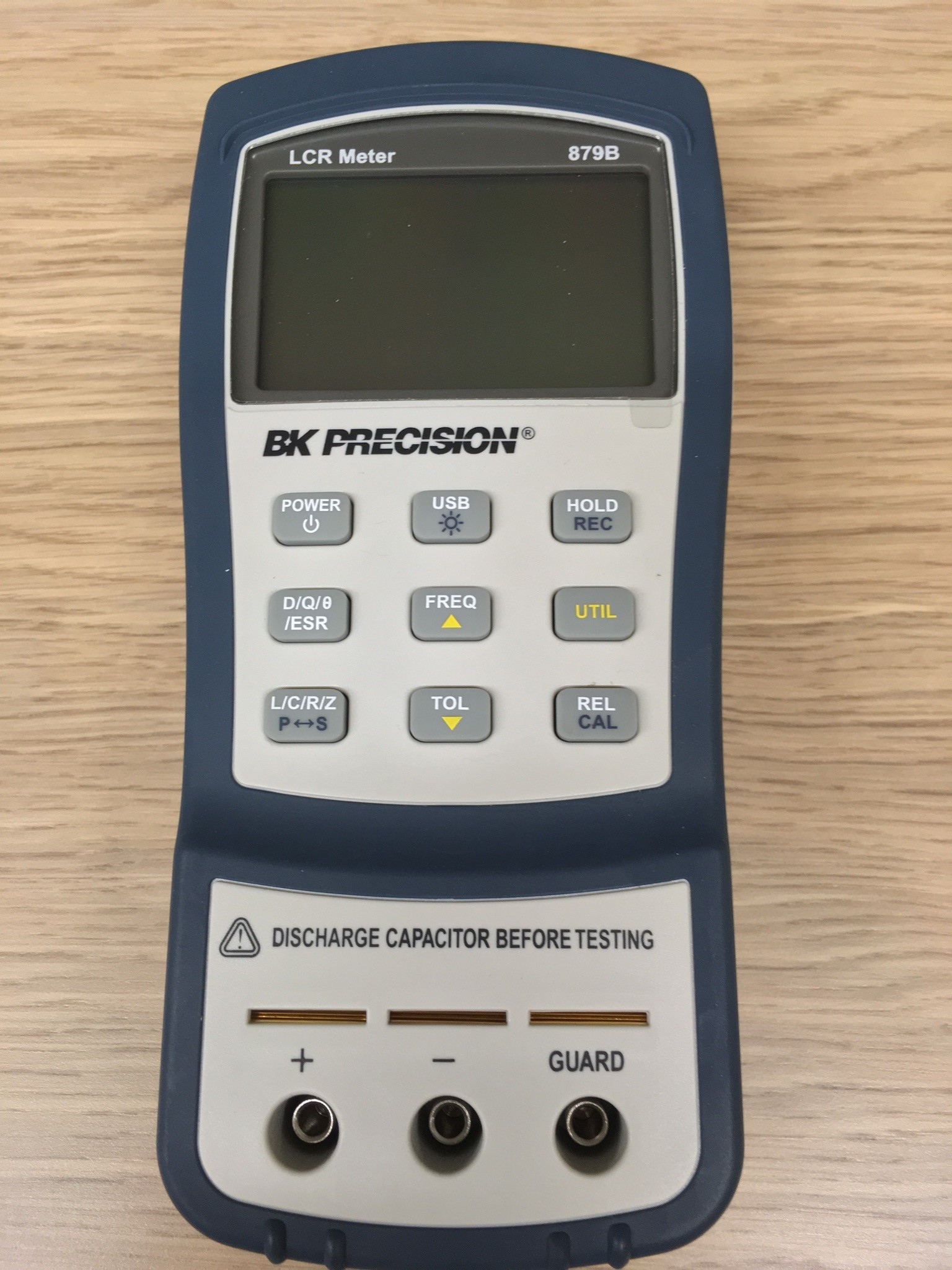 Photo of 40,000 Count Dual Display Handheld LRC Meter BK Precision