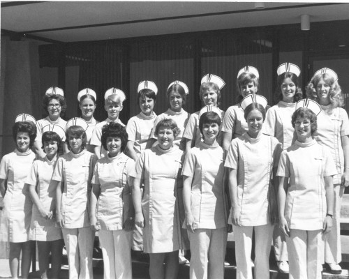 Large Group of Nurses