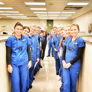 dental hygiene clinic students