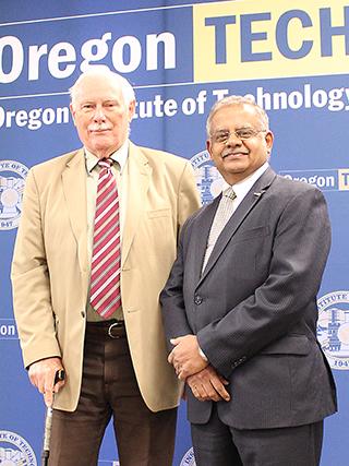 John Lund and President Naganathan small