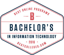 Best Online Program Bachelor's in Information Technology