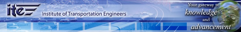 ITE - Institute of Transportation Engineers