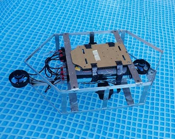 robotic sub created by students