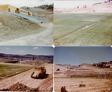 John F. Moehl Stadium Construction