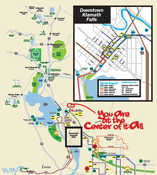 Visitor's Map