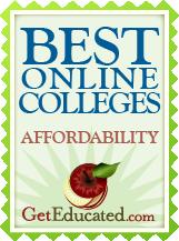GetEducated.com Best Buy - Online Colleges Affordability