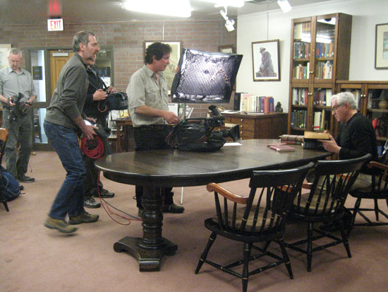 Shaw Library PBS Shoot