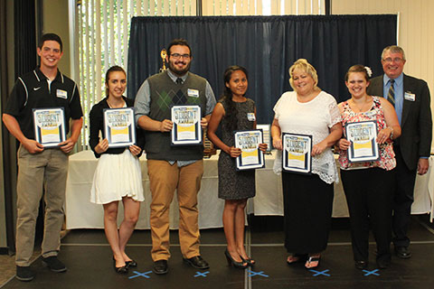 Recognition of Student Award Nominees