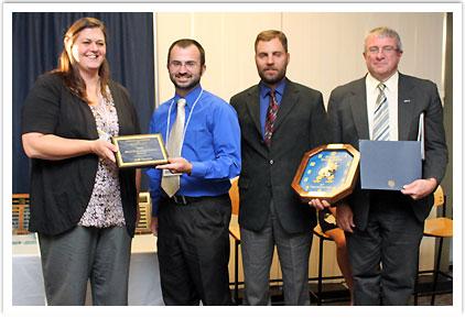 Most Dedicated Student Award - Seth Frazier