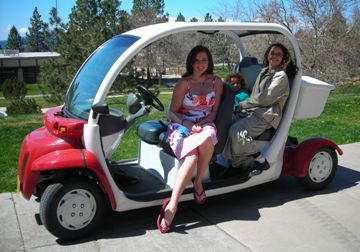 This is one of OIT's electric cars.